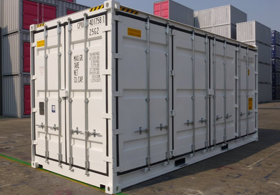 10 Foot Containers - 10ft Shipping Containers for Sale or ...